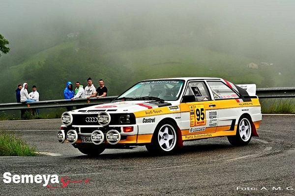 Audi Quattro Rallye Festival Trasmiera 2015