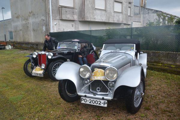 JAGUAR SS100 Rallye Descubrimiento