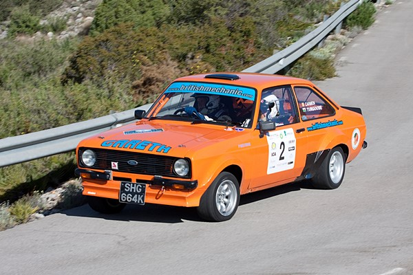 costa azahar classic turgoose ford escort
