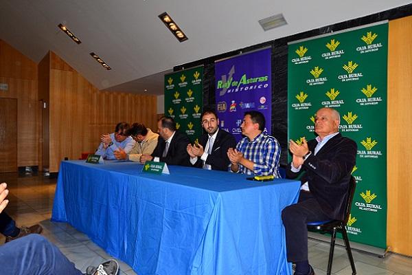Presentado el Octavo Rallye de Asturias Histórico