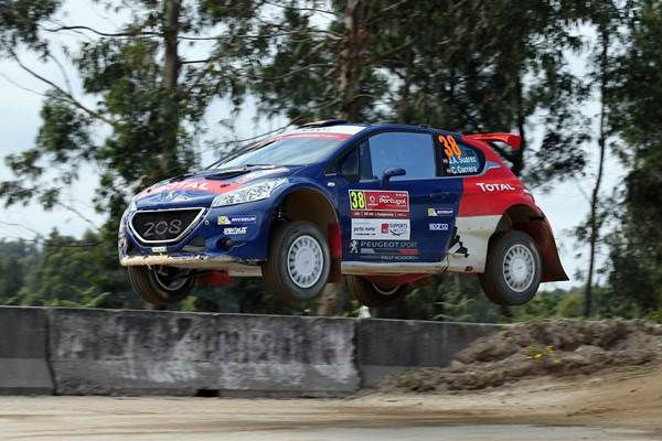 suarez-carrera peugeot 208 R5 rallye Portugal