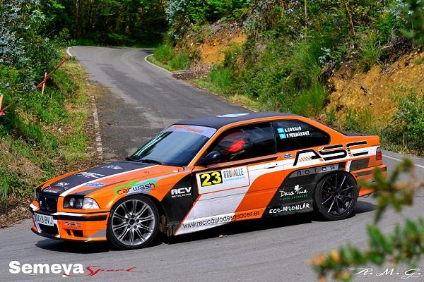 Antonio Corujo -BMW 325i- ganador Copa Propulsión