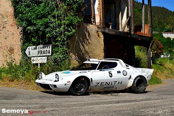 02 Erik Comas - Yannik Rocher -Lancia Stratos HF- Ganadores del Rallye de Asturias Historico 2016