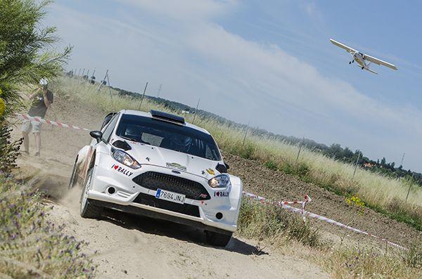 Carlos Aldecoa - III rally tierra villa del El Molar