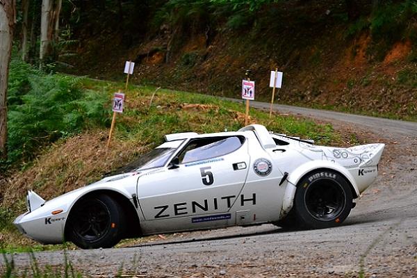 ► Asturias Históricos: Erik Comas líder tras la primera etapa del Rallye