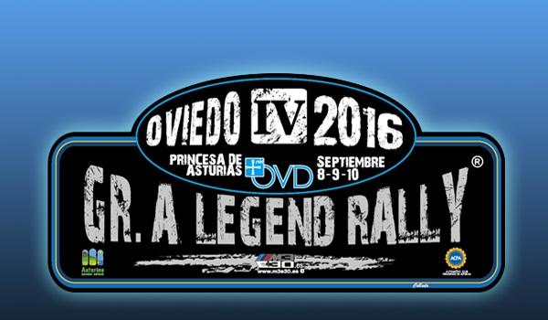 ►El Gr. A Legend Rallye con el Rallye Princesa de Asturias