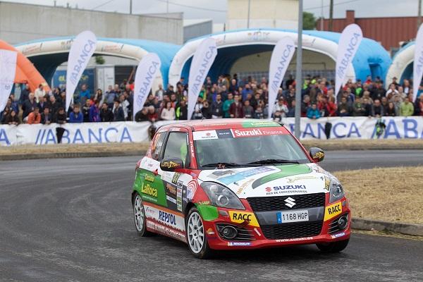 Quinto puesto para Álvaro Iglesias en el Rallye de Ourense