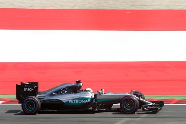 Austria Mercedes F1