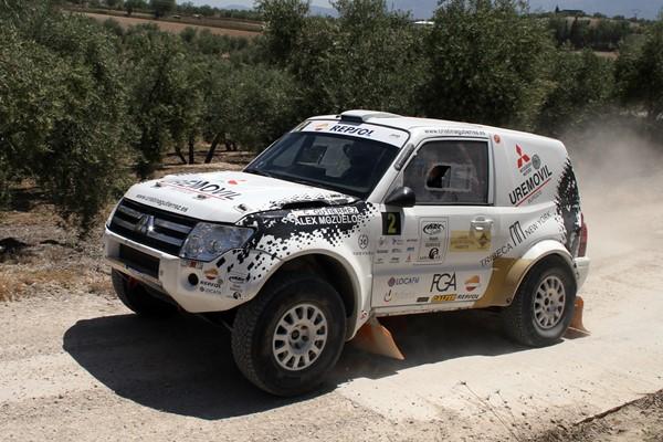 Mitsubishi en la Baja Aragón 2016 ante los mejores equipos de Rallyes TT