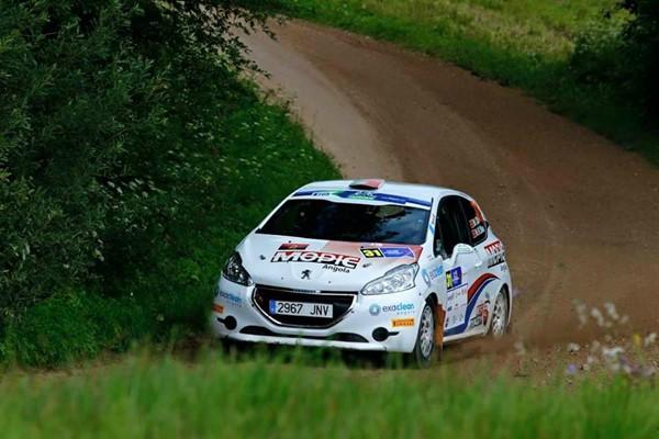 Marco cid Nuno Rodrigues RaceSeven Estonia peugeot 208