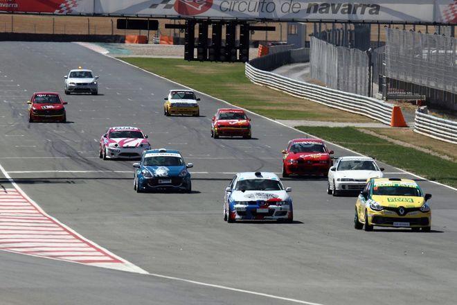 Circuito Navarra : Joaquín rodrigo dominador en el circuito de navarra rincón del motor