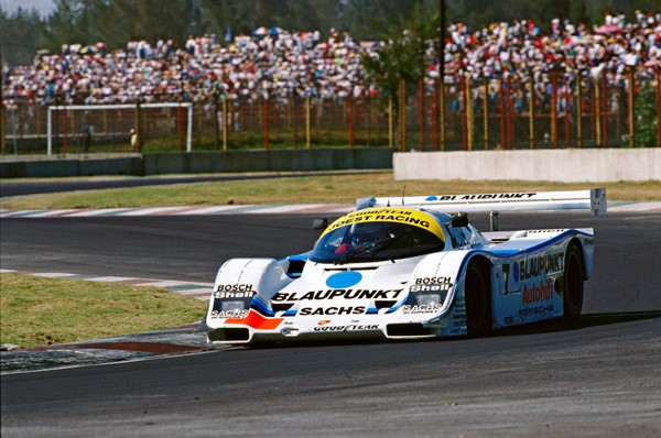 1989 Porsche 962 C Bob Wollek Mexiko-Stadt