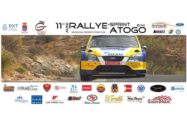 Atogo rallyesprint cartel 2016