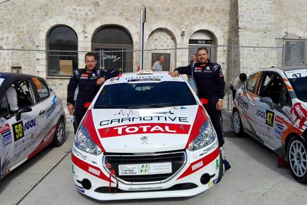 Pelaez Lozere 208 Rally Cup