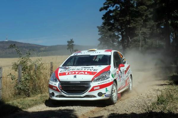 RaceSeven Lozere Pelaez 208 rally cup