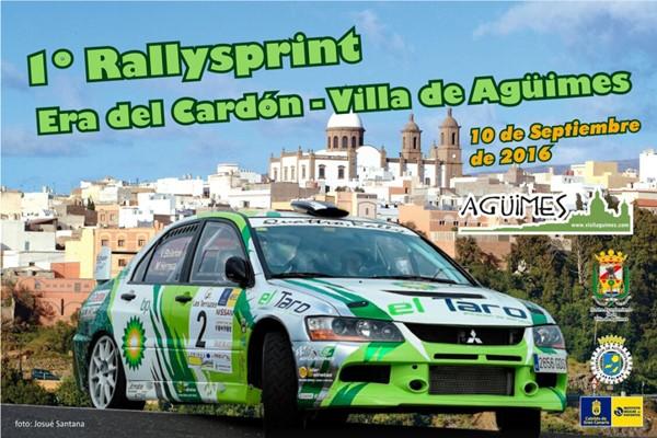 Rallysprint Era Cardón-Agüimes cartel