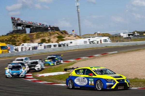 TCR Alemania Zandvoort Antti Buri seat