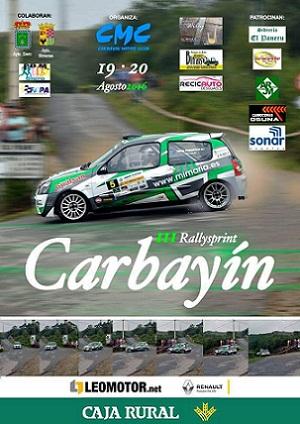 cartel rallysprint carbayín 2016