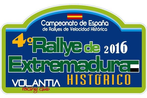 Publicada la lista de inscritos del 4° Rallye Extremadura Histórico