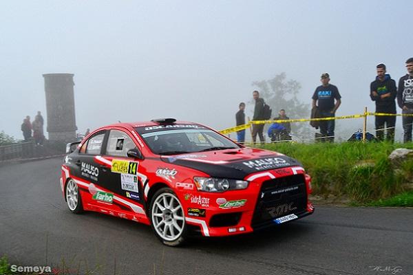 Pódium para Palacio en el Rallye Villa de Llanes
