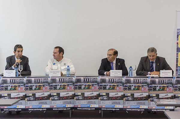 Presentado el XXX GP Camión de España