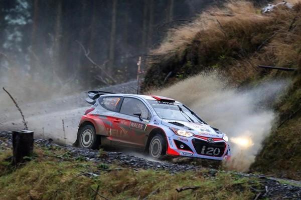 Dani Sordo - Hyundai i20 wrc gales