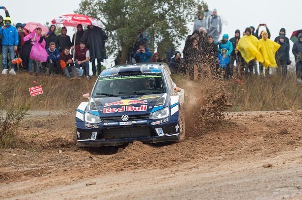 Latvala VW Polo Rallye España Cataluña
