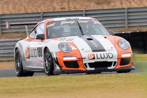 Luis Lopez Alvaro Rodriguez GT Porsche GT3 Jarama CER