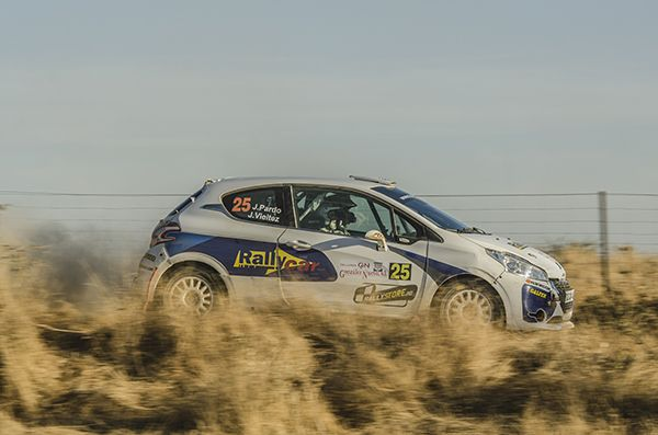 Rallye Norte de Extremadura Javier Pardo Peugeot 208
