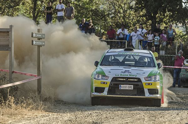 Rallye Norte de Extremadura Del Cid Mitsubishi Evo