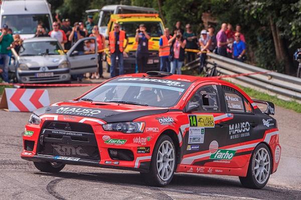 Oportunidad de título para Óscar Palacio en el Rallysprint Castropol