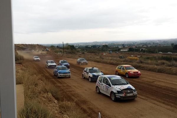 Buena actuación de los pilotos aragoneses en Turismos en el Autocross de Lleida