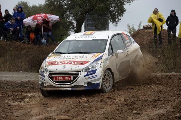 lopez rallye España Peugeot R2