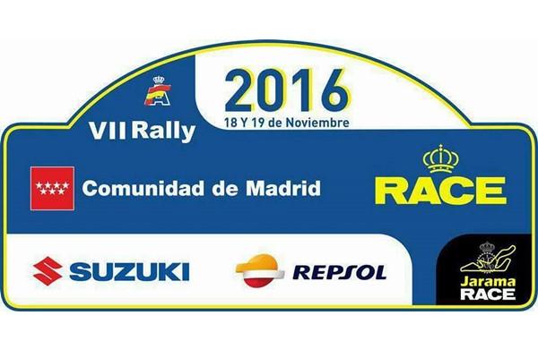 El Rallye Comunidad de Madrid-RACE con el apoyo de Suzuki y Repsol