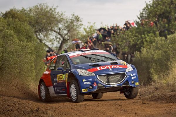 suarez rallye España Peugeot WRC2