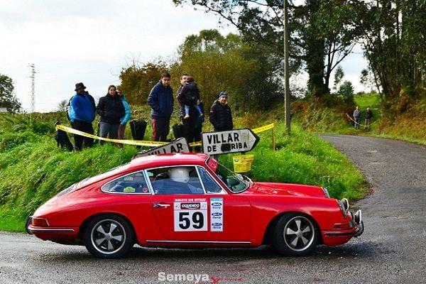 G. alija y R. rodríguez -Porsche 911 T- Primeros en el regional de Regularidad 50 Km/h.