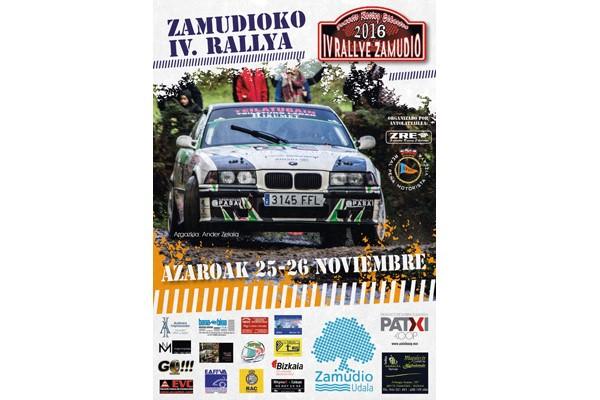 El Campeonato Vasco de Rallyes 2016 se decide el sábado en el IV Rallye de Zamudio