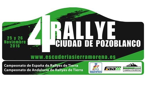 ► CERT: 63 inscritos en el Rallye de Pozoblanco