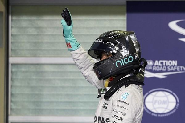 Nico Rosberg Mercedes F1 Abu Dhabi campeón 2016