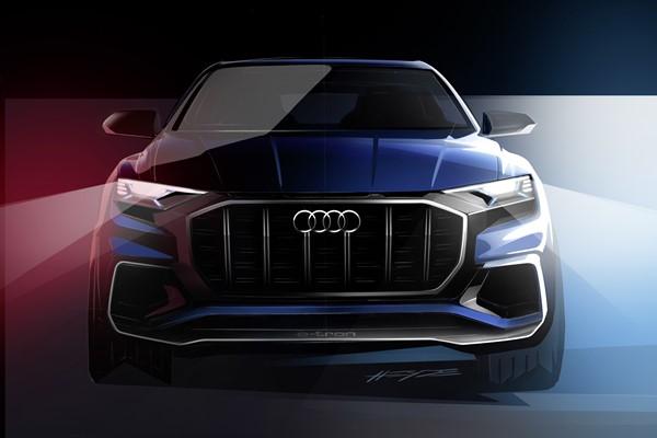Audi Q8 Concept 2017, anticipo de un nuevo SUV de gran tamaño y lujo