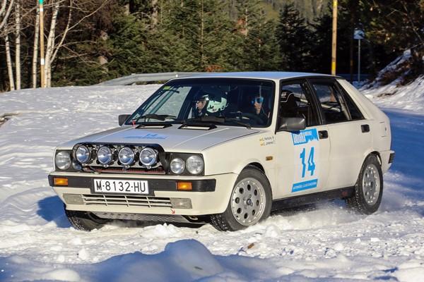 Carles Fortuny-Carles Jiménez lancia delta andorra winter rally 1812