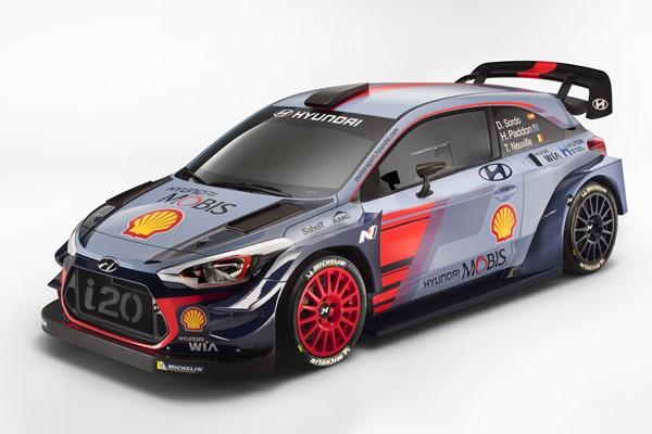 Hyundai i20 WRC Coupe 2017
