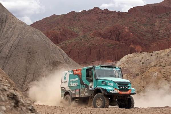 Iveco Powerstar DeRooy Dakar 2016