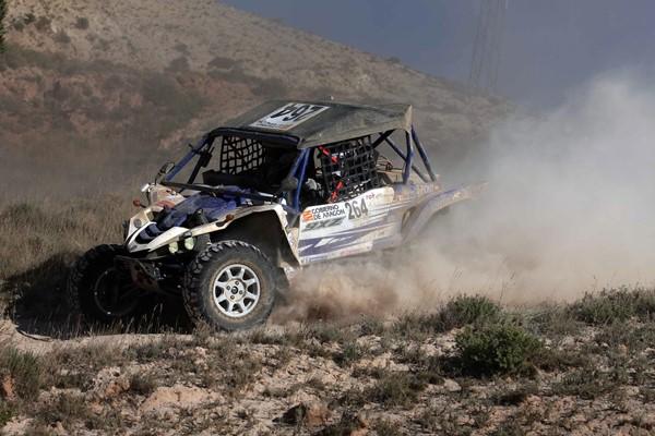 Joan Font en su primer Dakar con un Yamaha YXZ1000R