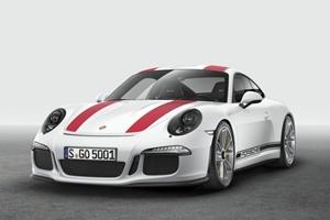 Porsche 911 R serie limitada 2016