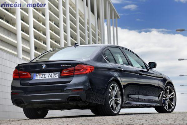 BMW M550iA xDrive 2017, el más potente de la nueva generación de la Serie 5