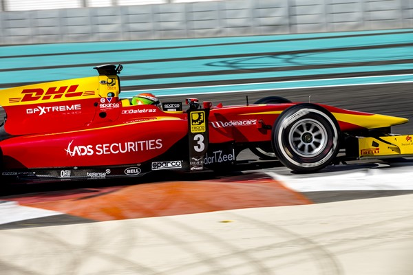 deletraz gp2 racing engineering test abu dhabi 2016