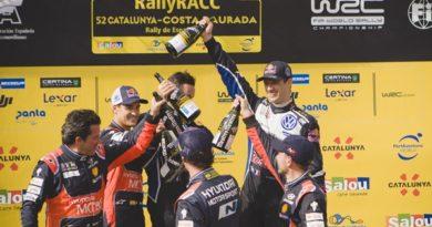 rallye españa wrc podio