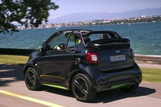 smart cabrio electric drive greenflash