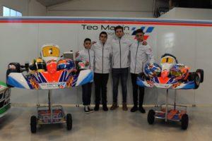 teo martin junior team karting
